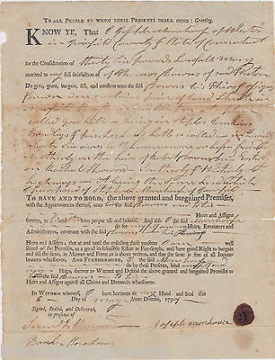 REVOLUTIONARY WAR VETERANS DRUMMER BOY ANTIQUE AUTOGRAPH SIGNED DOCUMENT 1797 - K-townConsignments