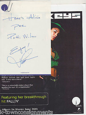 ALECIA KEYS J RECORDS ORIGINAL PRESS KIT PROMO PACKAGE W/ FLYERS & 8x10 PHOTO - K-townConsignments