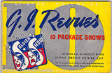 G.I. REVUES AT EASE VOL XVI VINTAGE WWII USO SOLDIER PACKAGE SHOWS SONG BOOK '44 - K-townConsignments