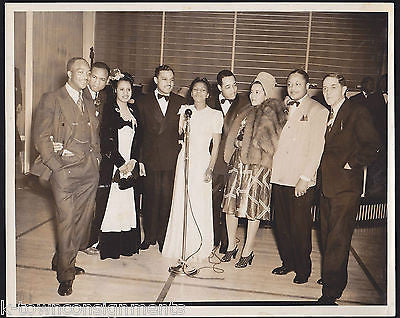 IVIE ANDERSON DUKE ELLINGTON CHICAGO BIG BAND ORIGINAL FRANK DRIGGS PHOTO 1941 - K-townConsignments