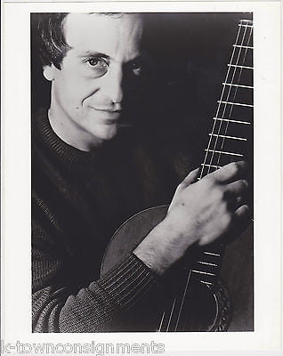 PACO PENA SPANISH FLAMENCO MUSIC GUITARIST VINTAGE STUDIO PROMO PHOTO - K-townConsignments