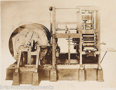 Konig Printing Press Built in Berlin Germany 1803 Vintage 1930s News Press Photo - K-townConsignments
