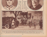 CHAMP CLARK & EDWARD DOUGLASS WHITE DEATHS WWI 1920s NEWS PHOTO POSTER PRINT - K-townConsignments
