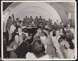 COUNT BASIE ORCHESTRA WWII BOSTON MA VINTAGE DRIGGS PHOTO BY ALEXANDER MARSHARD - K-townConsignments