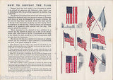 HOW TO RESPECT & DISPLAY OUR FLAG VINTAGE PATRIOTIC BOOK US MARINE CORP - K-townConsignments