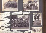 ENGLAND CHURCH INDIAN PRIESTS AUTOGRAPHS DOGS GOLF TENNIS ANTIQUE PHOTO ALBUM - K-townConsignments