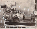SASGEN DERRICK CHICAGO INDUSTRIAL MACHINERY Co VINTAGE ADVERTISING PROMO PHOTO - K-townConsignments