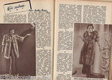 SZINHAZI ELET VINTAGE 1930s HUNGARIAN ACTORS ACTRESS GRAPHIC MOVIE MAGAZINE - K-townConsignments