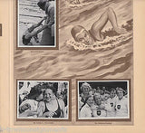 SWIM TEAM 100M EVENT OLYMPICS 1936 PHOTO CARDS POSTER PRINT - K-townConsignments