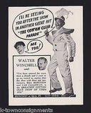 CAB CALLOWAY BILL ROBINSON COTTON CLUB BROADWAY NY 1930s GRAPHIC AD CLIPPING - K-townConsignments