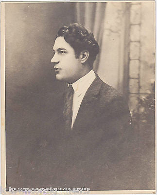 ETTORE GENTILE 1900s COMPOSER VINTAGE SHEET MUSIC & STUDIO HEAD-SHOT PHOTO 1917 - K-townConsignments