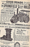 G J PNEUMATIC ROAD & RACING TIRES ANTIQUE 1890s GRAPHIC BICYCLE ADVERTISING BOOK - K-townConsignments
