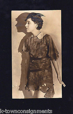 PETER PAN SILENT MOVIE & STAGE ACTRESS BETTY BRONSON ANTIQUE PROMO PHOTO 1924 - K-townConsignments