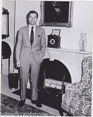 PETER FLANIGAN NIXON WHITE HOUSE AID VINTAGE 1970s OFFICIAL WHITE HOUSE PHOTO - K-townConsignments