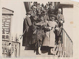WWI General Pershing Attends Gen. Edgar Jadwin Funeral Vintage 1930s Press Photo - K-townConsignments