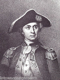 John Paul Jones American Naval Officer Vintage Portrait Gallery Poster Print - K-townConsignments