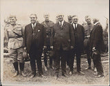 Marine Gen. Lejune VA Gov Trinkle & WWI Soldiers Vintage 1920s News Press Photo - K-townConsignments