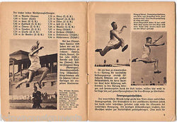 GERMAN OLYMPIC SPRINGEN OLYMPIA HEFT PHOTO AD BOOK 1930 - K-townConsignments