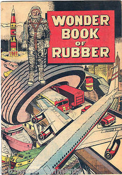 GOODRICH TIRES WONDER RUBBER VINTAGE GRAPHIC COMIC BOOK - K-townConsignments