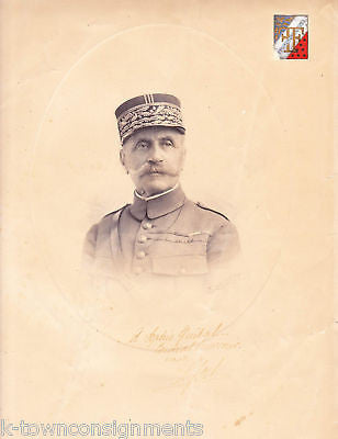FERDINAND FOCH WWI FRENCH MILITARY GENERAL AUTOGRAPH SIGNED PHOTO ENGRAVING - K-townConsignments