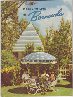 Bermuda Bahamas Vacations Vintage Graphic Advertising Hotels Travel Booklet