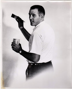 Handy Man Painter Fashion Model Vintage 1960s Large Format Advertising Photograph