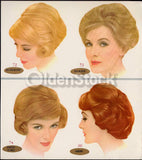 Clairol Dyes Hair Coloring Vintage Women's Hairstyling Advertising Display Sign