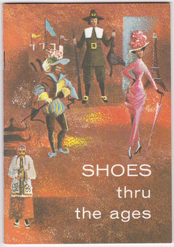 Shoes Through the Ages International Shoe Company Vintage Advertising Booklet