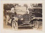 The Family Jalopy Old Ford Model T Car Antique Snapshot Photograph