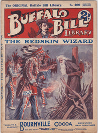 The Redskin Wizard Buffalo Bill Cody Cowboys & Indians Western Story Book