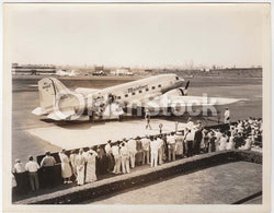 United Airlines Mainliner Airmail Express Plane Vintage Airline Advertising Promo Photograph