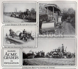 Acme Road Machinery Frankfort NY Antique Farm Tool Advertising Sales Catalog