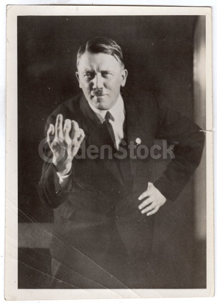 Adolf Hitler Mein Kampf German Propaganda Original 1930s News Press Photo