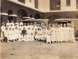 WWI Quarantine Island Puerto Rico Hospital Nurses Antique Ambulance Photos lot