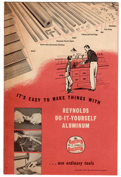 Reynolds Rolled Aluminum Vintage 1950s Industrial Metals Advertising Brochure