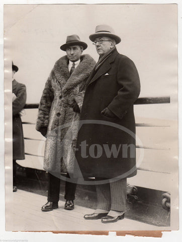 HUGH GIBSON FOREIGN SERVICE DISARMAMENT DIPLOMAT ANTIQUE NEWS PRESS PHOTO 1926 - K-townConsignments