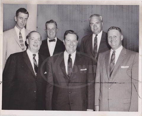 CHRYSLER MOTORS NOONAN REGIONAL MANAGERS MEETING VINTAGE NEWS PRESS PHOTO 1957 - K-townConsignments