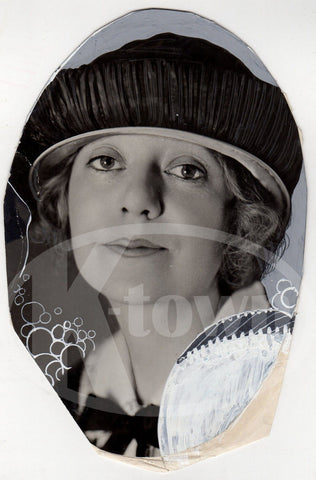 MAUDE FULTON BROADWAY STAGE ACTRESS VINTAGE PASTE-UP PRESS PHOTO - K-townConsignments