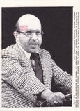 STU ABERDEEN UNIVERSITY OF TENNESSEE NCAA BASKETBALL COACH 1970s PRESS PHOTO - K-townConsignments