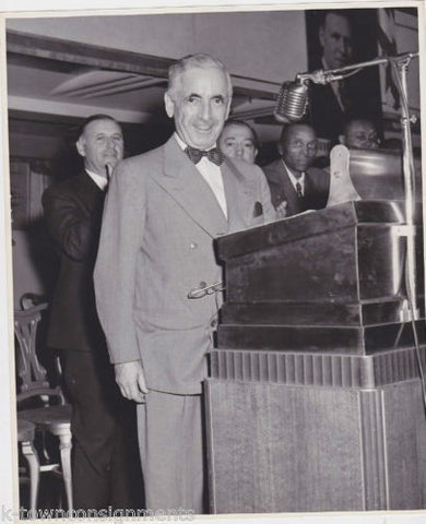 JUDGE JONAH GOLDSTEIN VINTAGE 1940s POLITICAL PRESS PHOTO - K-townConsignments