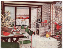 1960s Interior Design Fashions Vintage Home Builder's Supply Advertising Catalog