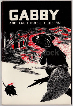 Gabby & the Forest Fires Vintage Graphic Illustrate Wildlife Forestry Childrens Book