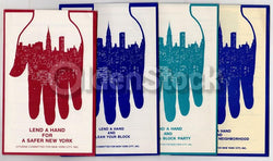 Lend a Hand for a Safer Cleaner New York Vintage City Life PSA Booklets