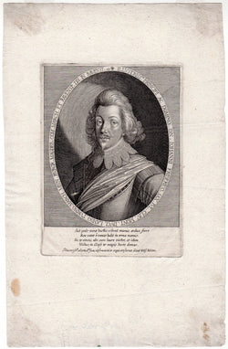 Ernst Wolfgang Kilian German Engraver Antique Portrait Engraving Print