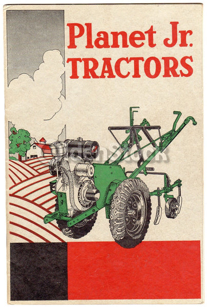 Planet Jr Tractors Antique Agricultural Equipment Advertising Catalog 1937