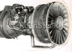 Early Aviation Airplane Jet Engine Vintage Industrial Americana Art Photo