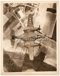 McDonnell XP-67 Interceptor Vintage WWII Prototype Plane Military Aviation Photo