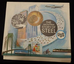 United States Steel Corporation History Vintage Graphic Advertising Poster Brochure