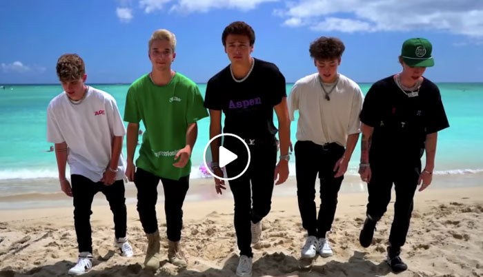 WATCH: WHY DON'T WE HAVING THE BEST TIME EVER!