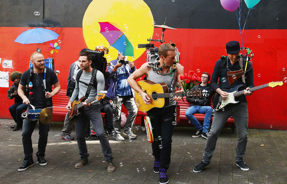 COLDPLAY'S BIGGEST HITS IN AUSTRALIA